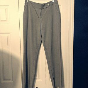 CALVIN KLEIN DRESS PANTS WOMENS SIZE 4 SLACKS GRAY